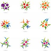 Plant Like Logos poster