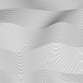 Background Wavy Lines Abstract Pattern Vector Wavy Surface Texture Lines poster