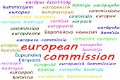Ways To Say European Commission In All 24 Official Languages Of The European Union poster