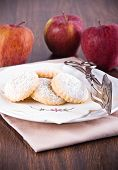 Apple filled cookies.