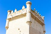Castle of Belmonte de Campos, Castile and Leon, Spain