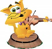 foto of nursery rhyme  - Hey diddle diddle the cat and the fiddle - JPG