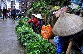 Vendors at Sapa market, Northern Vietnam