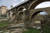 Ponte romana em Roda De Ter