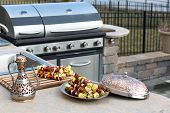 Skewers And Outdoor Kitchen