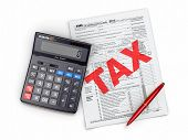 foto of cpa  - Time for taxes - JPG