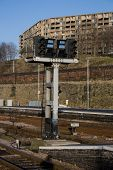 Signals At Railway Station