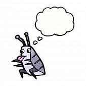 picture of woodlouse  - cartoon bug - JPG
