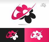 Flower Swoosh Icons