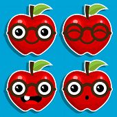 Smart Apples with Eyeglasses