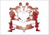 Hearts Shield