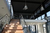 Industrial Interior - Staircase Detail