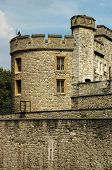 Medieval Castle (london Tower) In Summer Day poster