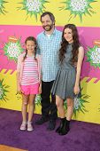 LOS ANGELES - MAR 23:  Judd Apatow, Family arrives at Nickelodeon's 26th Annual Kids' Choice Awards