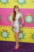LOS ANGELES - MAR 23:  Bella Thorne_ arrives at Nickelodeon's 26th Annual Kids' Choice Awards at the