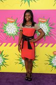 LOS ANGELES - MAR 23:  Gabby Douglas arrives at Nickelodeon's 26th Annual Kids' Choice Awards at the
