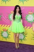 LOS ANGELES - MAR 23:  Ryan Newman arrives at Nickelodeon's 26th Annual Kids' Choice Awards at the U