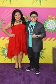 LOS ANGELES - MAR 23:  Raini Rodriguez, Rico Rodriguez arrive at Nickelodeon's 26th Annual Kids' Cho