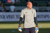 CARSON, CA - JULY 24: Brad Friedel before the Tottenham Hotspur vs Los Angeles Galaxy game on July 2