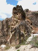 Rocky Outcropping - Arrowrock, Idaho