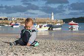 Child At Seaside