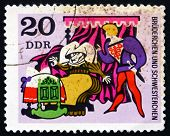 Postage Stamp Gdr 1970 Fairy Tale Little Brother And Sister