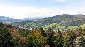 landscape - mountains Jeseniky, Czech Republic, Europe