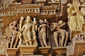 Lord Vishnu Sculptor , Khajuraho, India -   Unesco World Heritage Site.