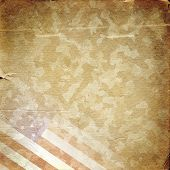 picture of camouflage  - Grunge military background - JPG