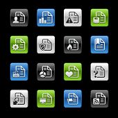 Document Icons 2 // Gelbox Series