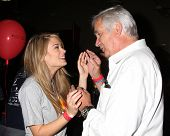 LOS ANGELES - OCT 6:  Kim Matula, John McCook at the Light The Night The Walk to benefit the Leukemia-Lymphoma Society at Sunset-Gower Studios on October 6, 2013 in Los Angeles, CA