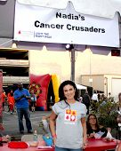 LOS ANGELES - OCT 6:  Nadia Bjorlin at the Light The Night The Walk to benefit the Leukemia-Lymphoma Society at Sunset-Gower Studios on October 6, 2013 in Los Angeles, CA