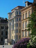 Art Deco Facades In Stockholm City (sweden)