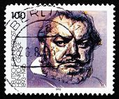 Postage Stamp Germany 1993 Heinrich George, Actor