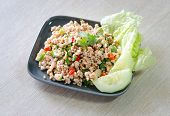 Larb Moo, Thai Spicy Pork Salad