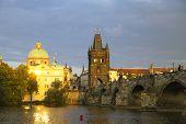 Prague From Vltava River