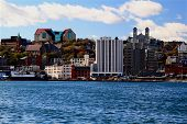 Downtown St. John's Skyline, Newfoundland.