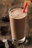 pic of refreshing  - Refreshing Delicious Chocolate Milk with Real Cocoa - JPG