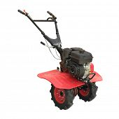 picture of cultivator-harrow  - cultivator under the white background - JPG