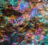 pic of iron pyrite  - Crystal nugget gold bronze copper iron - JPG