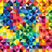 Seamless bright pattern background. Vector