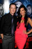 LOS ANGELES - APR 16:  Jason London, Natalie Burn at the