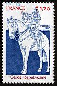 Postage Stamp France 1980 Guardsman