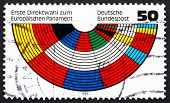 Postage Stamp Germany 1979 European Parliament