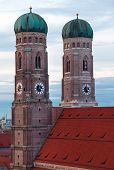 The Church Of Our Lady (frauenkirche) In Munich.