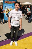 LOS ANGELES - APR 11:  Jake Short at the Despicable Me Minion Mayhem  and Super Silly Fun Land at Un