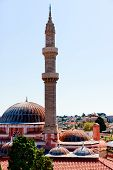 Minaret And Domes Of  Suleiman The Magnificent Mosque