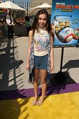 LOS ANGELES - APR 11:  Rowan Blanchard at the Despicable Me Minion Mayhem  and Super Silly Fun Land at Universal Studios Hollywood on April 11, 2014 in Universal City, CA