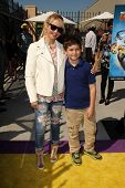 LOS ANGELES - APR 11:  Charlotte Ross at the Despicable Me Minion Mayhem  and Super Silly Fun Land a