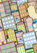 Urban Buildings Background